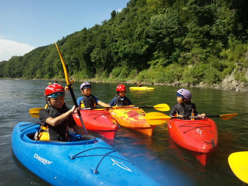 長瀞で山と川遊びキャンプ~カヤック・パドルボートやマウンテンバイク、ハイキングなど