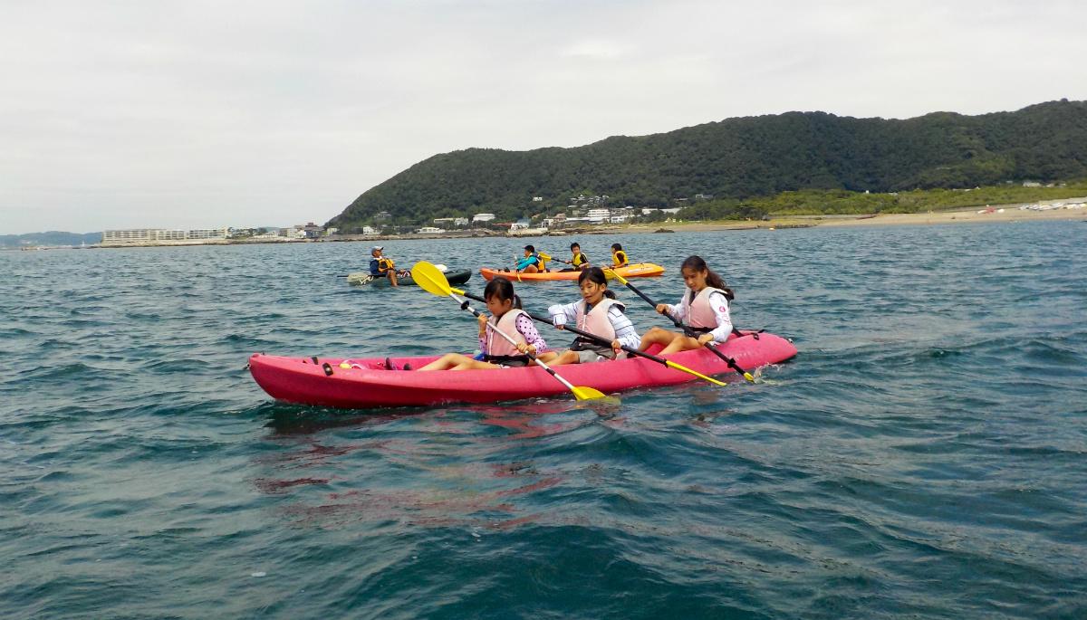17708:葉山で海遊びキャンプ