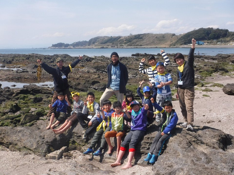 三浦半島の自然と遊ぼう!自然探検キャンプ
