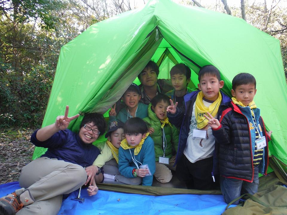 【春休み】アウトドア生活にチャレンジ!自然探検キャンプ
