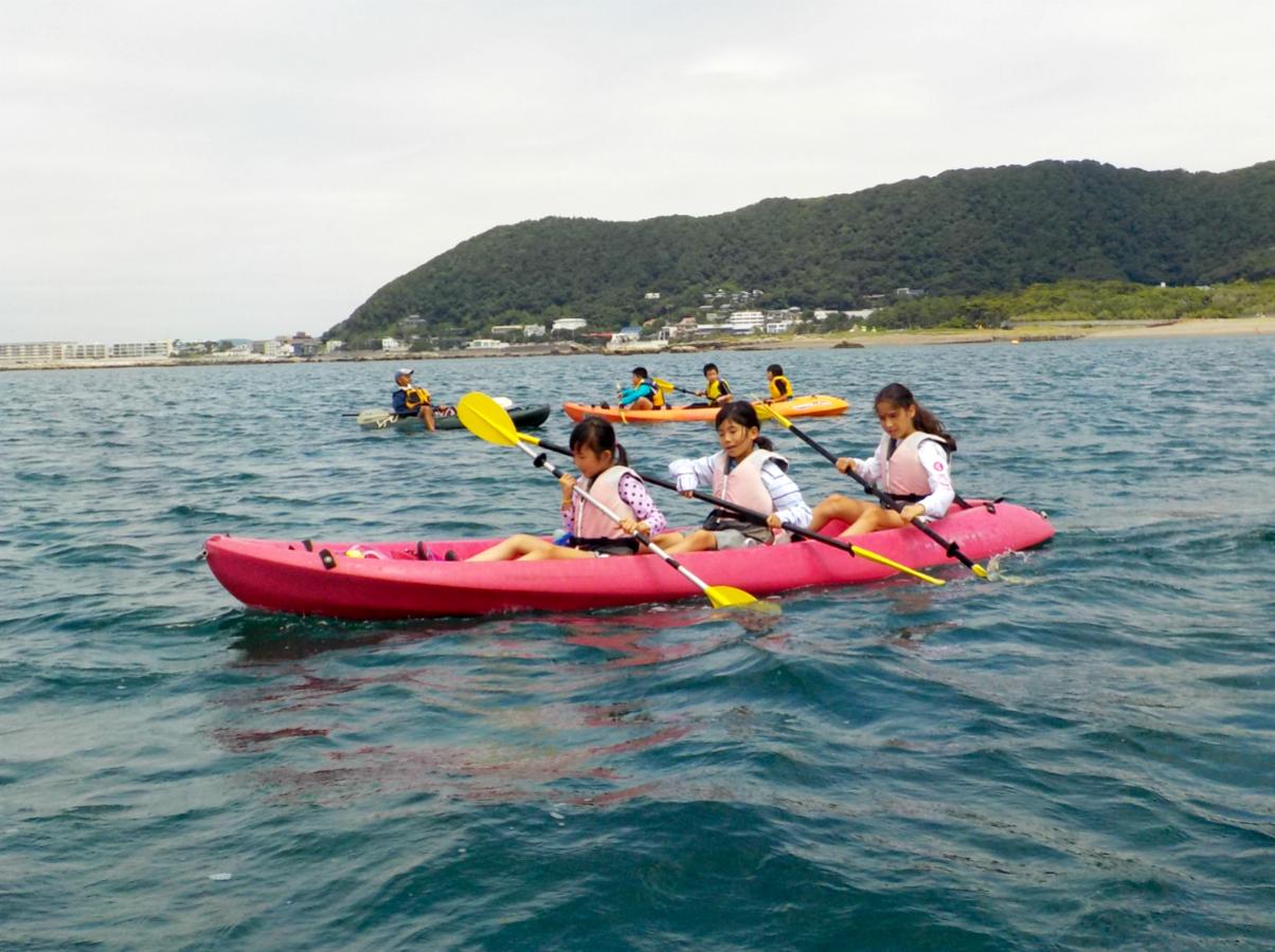 【夏休み・2泊3日】海の世界を探検!葉山で海遊びキャンプ