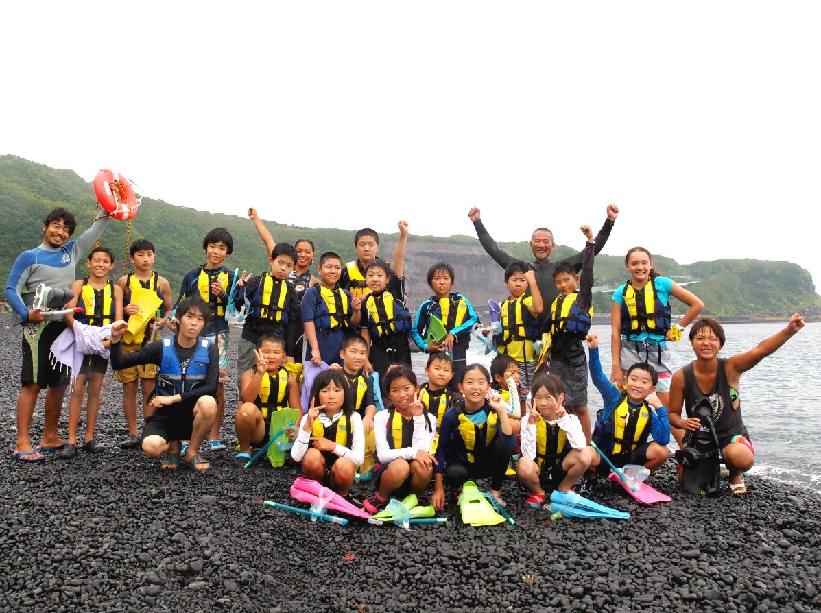 【夏休み・4泊5日】島と海で大冒険!三宅島マリンキャンプ