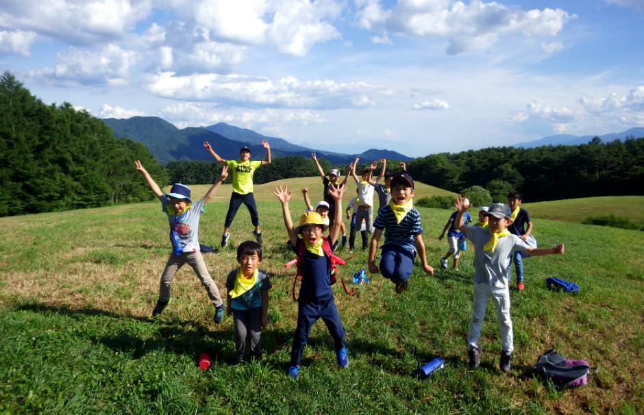 17732:大草原と森で冒険!清里高原キャンプ