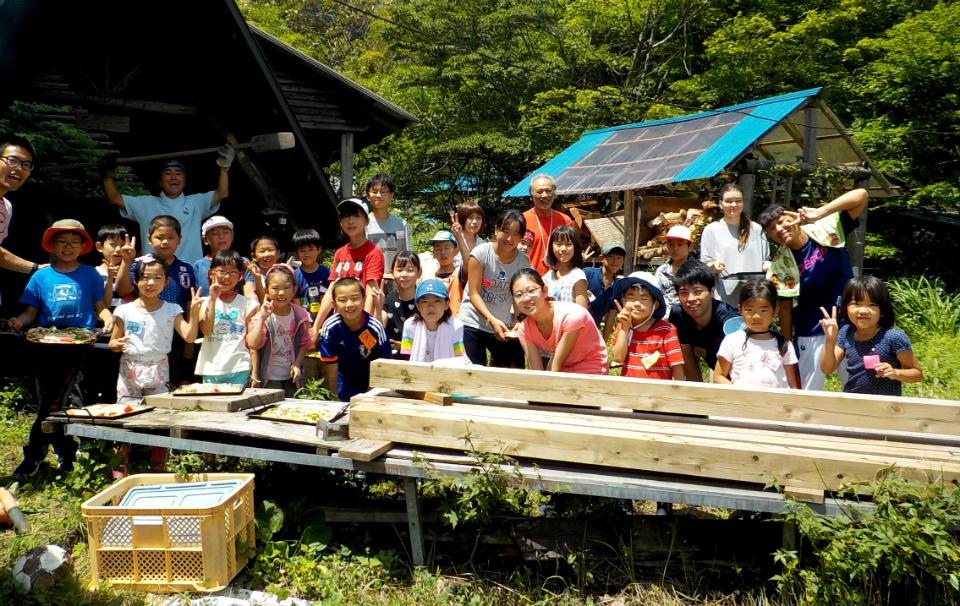 17727:自然と暮らす!ミニ山村留学キャンプ
