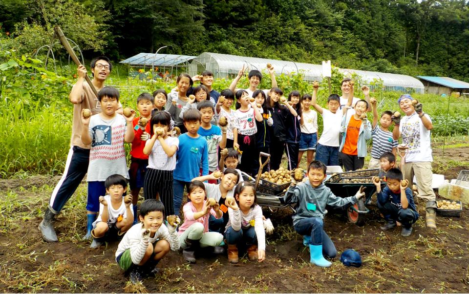 17728:農業と手作り料理に挑戦!畑の楽校キャンプ