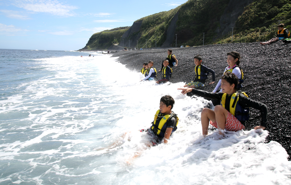 17731:島と海で大冒険!三宅島マリンキャンプ