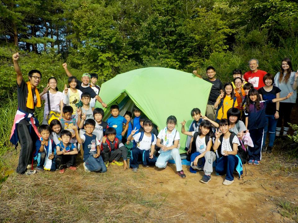 アウトドア生活に挑戦!チャレンジキャンプ